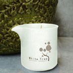 White Tree Massage candel with the natural apple extract 100 ml