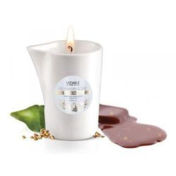 Vedara candle for body massage Gold & Hot Chocolate